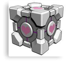 Companion Cube - Portal Canvas Print