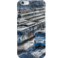 old trains iPhone Case/Skin