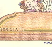 Chocolate Kisses Sticker