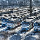 old trains by lucifuk