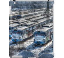 old trains iPad Case/Skin