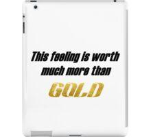 Ricky Dillon GOLD lyrics iPad Case/Skin