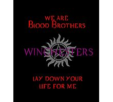 Winchesters - Blood Brothers 2 Photographic Print