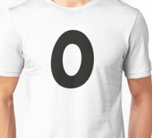 Comic Number 0 zero Unisex T-Shirt