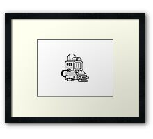 PC Buddy Framed Print