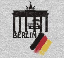 berlin, germany flag, trabant by hottehue