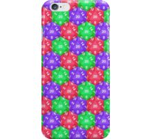 d20 Pattern iPhone Case/Skin