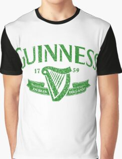 Guiness green Graphic T-Shirt