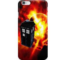 tardis in the sun dr who iPhone Case/Skin