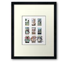 Original Starter Ukiyo-E Framed Print