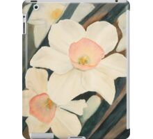 Narcissus Flowers Revealed iPad Case/Skin