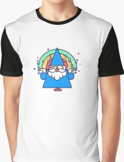 Rainbow Wizzard Graphic T-Shirt
