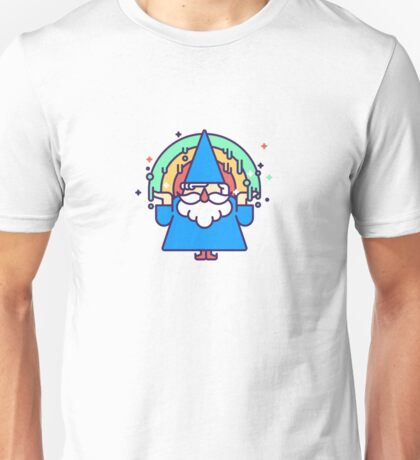 Rainbow Wizzard Unisex T-Shirt