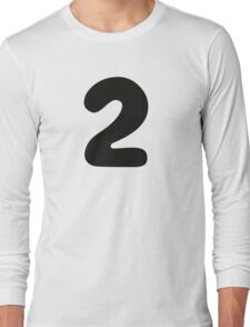 Comic Number 2 Two Long Sleeve T-Shirt