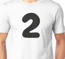 Comic Number 2 Two Unisex T-Shirt