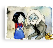 Adventure Time Marceline and Ice King Canvas Print