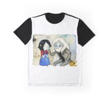 Adventure Time Marceline and Ice King Graphic T-Shirt
