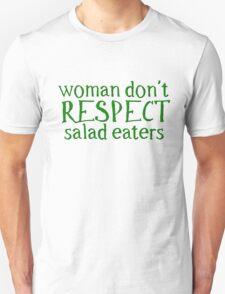 Vegetarian Vege Woman Funny T-Shirt