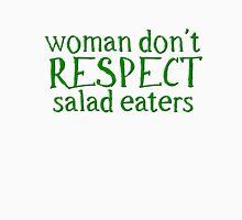 Vegetarian Vege Woman Funny Unisex T-Shirt