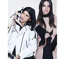 Kendall and Kylie Jenner Shoes Photographic Print
