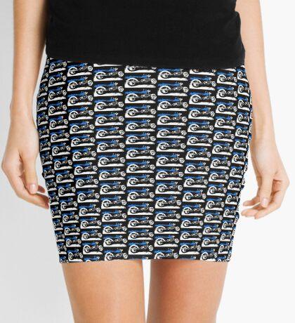 Blue Beauty V-8 Mini Skirt