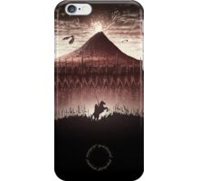 Lord of the Rings - The Ring Design Red iPhone Case/Skin