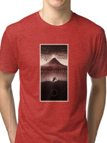 Lord of the Rings - The Ring Design Red Tri-blend T-Shirt