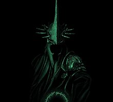 Lord of the Rings - Nazgul Design Glowing by djcedrics