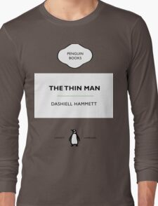 The Thin Man Book Cover tee Long Sleeve T-Shirt