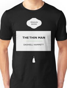 The Thin Man Book Cover tee Unisex T-Shirt