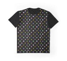 Super Mario World Item pixel pattern black Graphic T-Shirt
