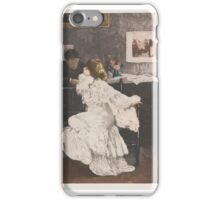 Manuel Robbe  NOCTURNE (OU LE FLIRT) (MERRILL CHASE 62) iPhone Case/Skin