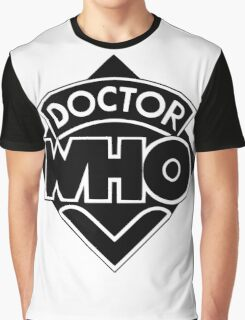 Doctor Who logo 1973-1980 Graphic T-Shirt