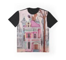 the Squirrel's City House Graphic T-Shirt