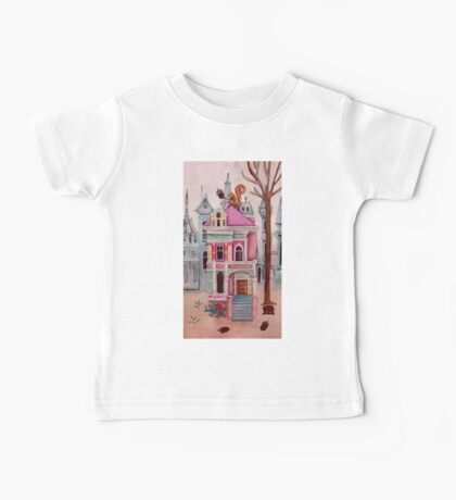 the Squirrel's City House Baby Tee