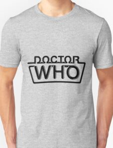 Doctor Who logo 1984-1986 Unisex T-Shirt