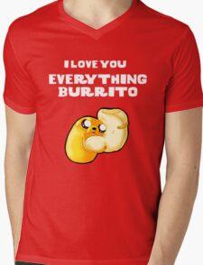 Everything Burrito Mens V-Neck T-Shirt