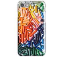 Rainbow Crayons Photo iPhone Case/Skin