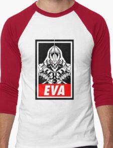 Evangelion Men's Baseball ¾ T-Shirt
