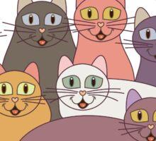 HAPPY BIRTHDAY by NINE CATS  Sticker