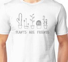 Sketchy Plants Print Unisex T-Shirt