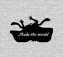 """Whitebeard """"Shake the world"""" Inside Mens V-Neck T-Shirt"""