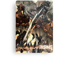 Metal Gear Rising: Revengeance - Raiden  Metal Print