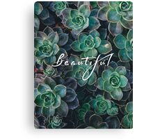 Beautiful  Canvas Print