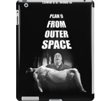 Ed Wood Plan 9 from Outer Space  iPad Case/Skin