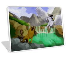 Bellerephon And Chimera Laptop Skin