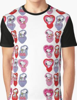 Snoopy Be My Valentine Graphic T-Shirt