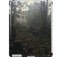 Misty graveyard iPad Case/Skin