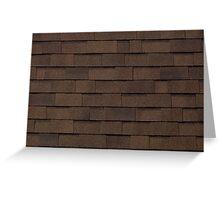 Brown tiles Greeting Card
