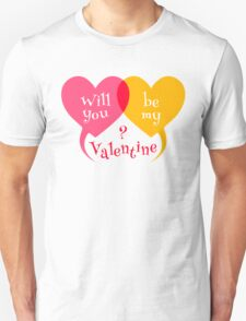 Two hearts for Valentine day T-Shirt